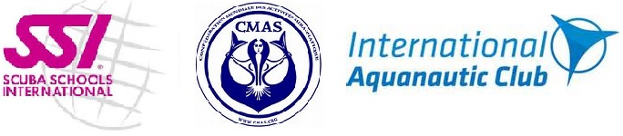 SSI, CMAS, International Aquanautic Club